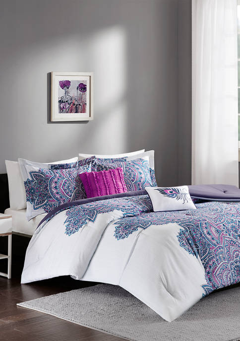 Intelligent Design 4 Piece Mila Comforter Set