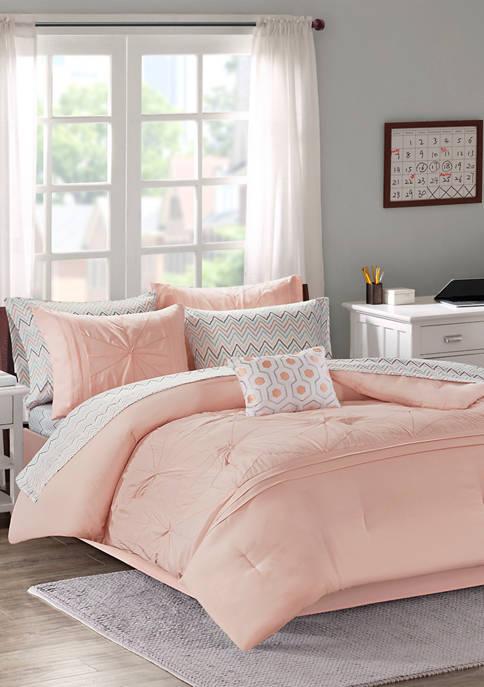 Intelligent Design Toren Comforter and Sheet Set