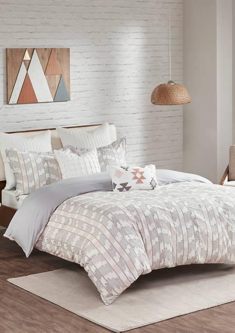 INK + IVY® Suri Cotton Jacquard Comforter Set