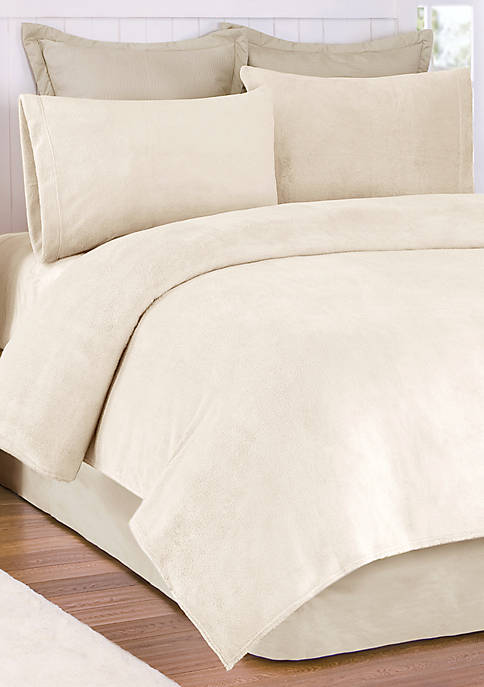 Soloft Plush Micro Raschel Full Sheet Set