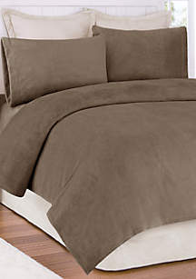 Soloft Plush Micro Raschel Queen Sheet Set - Fitted 60-in. x 80-in.