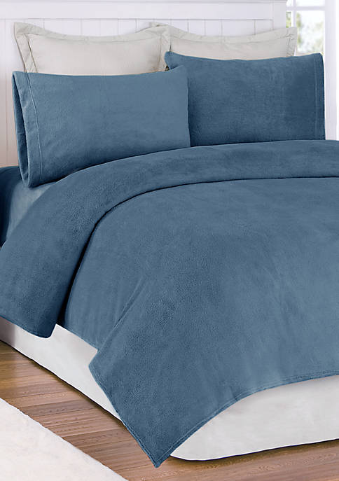 Soloft Plush Micro Raschel Twin Sheet Set