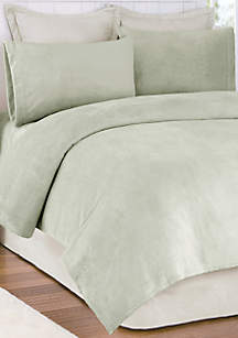 Soloft Plush Micro Raschel Full Sheet Set - Fitted 54-in. x 75-in.