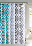 Dani Printed Shower Curtain and Hook Set