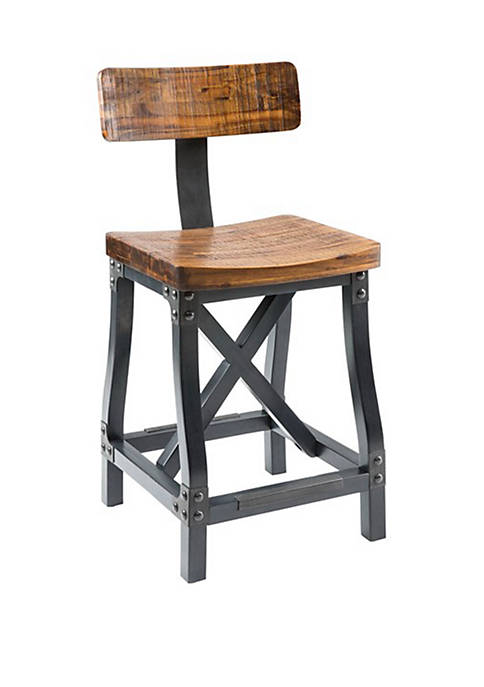 INK + IVY® Lancaster Counter Stool with Back