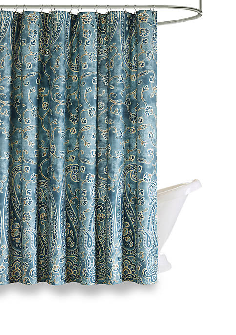 Harbor House Belcourt Cotton Shower Curtain