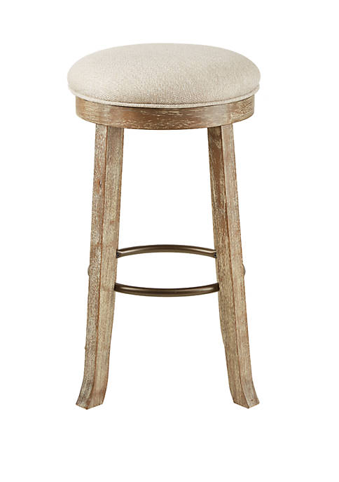 Oaktown Backless Bar Stool with Swivel Seat