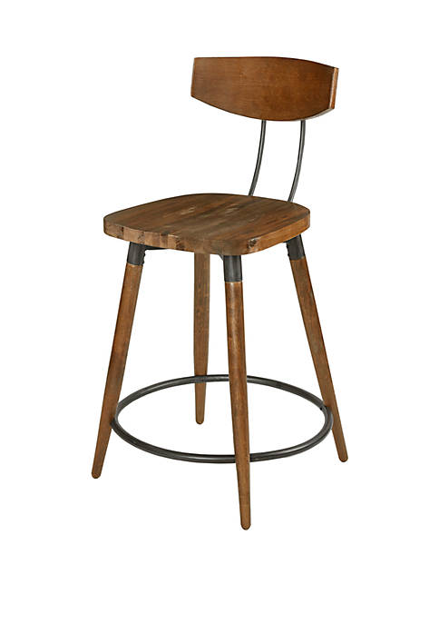 Frazier Counter Stool 24 Inch with Back