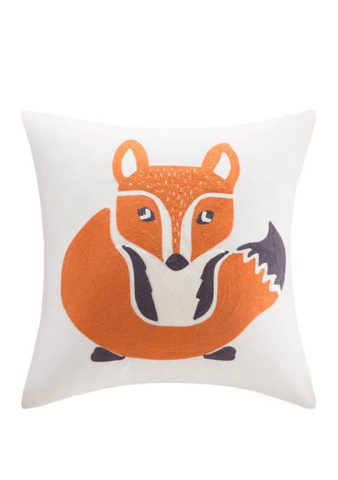 INK+IVY Kids Foxy Decorative Pillow