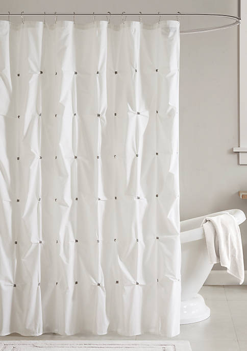 INK + IVY® Masie Cotton Shower Curtain