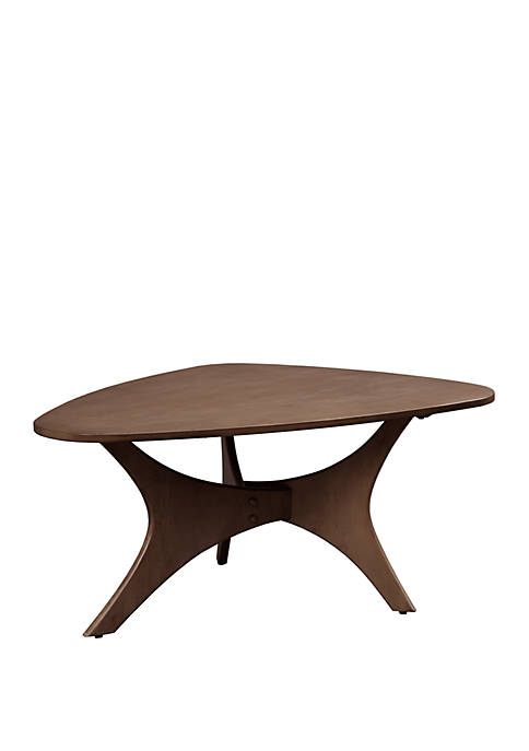 INK + IVY® Blaze Triangle Wood Coffee Table
