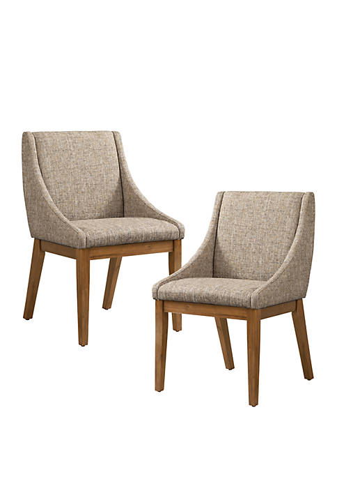Set of 2 Dean Dining Side Chairs
