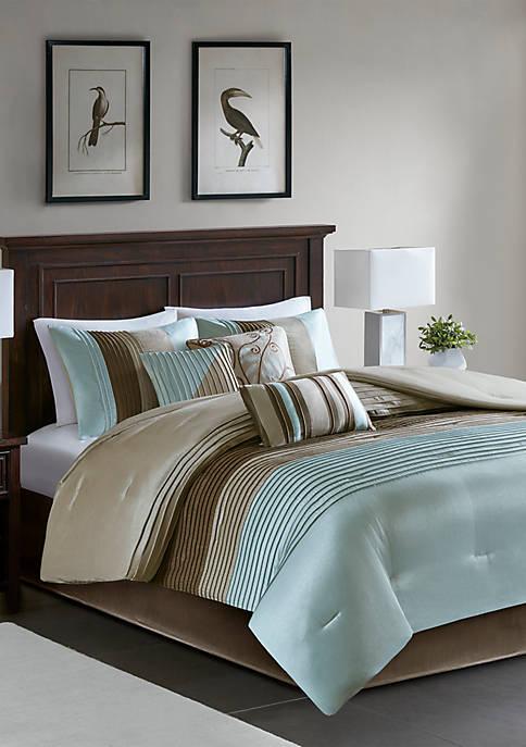 HipStyle Amherst 7-Piece Comforter Set