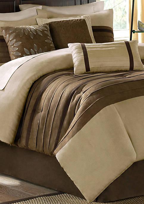 Madison Park Palmer Comforter Set-Natural