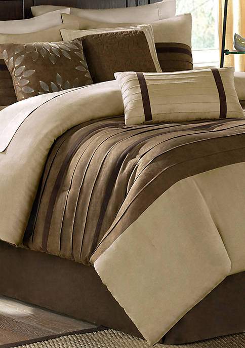 Madison Park Palmer Comforter Set-Natural