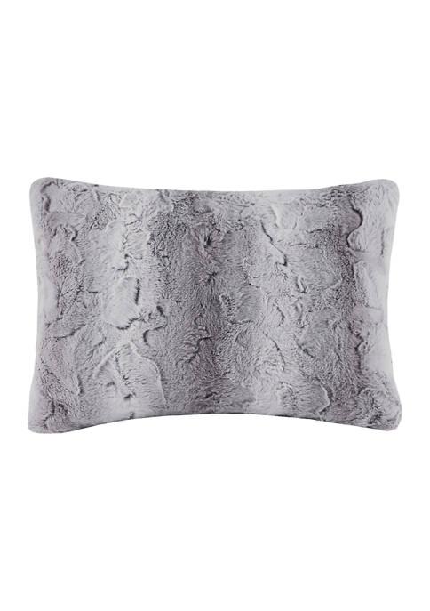 Zuri Faux Fur Oblong Pillow