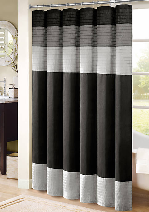 100 POLYESTER SHOWER CURTAIN