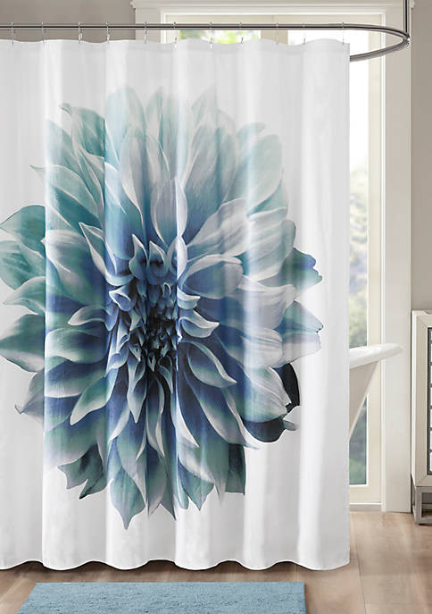 Norah 200TC Cotton Percale Shower Curtain
