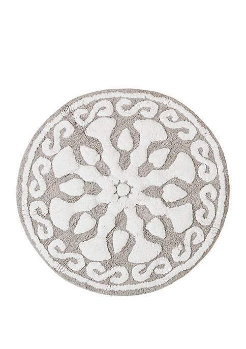 Madison Park Casablanca Medallion Cotton Tufted Bath Rug