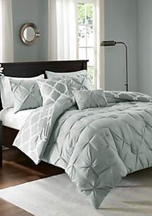 Kasey 5-Piece Reversible Comforter Set
