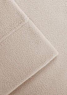 Micro Fleece Twin Sheet Set - Fitted 39-in. x 75-in.