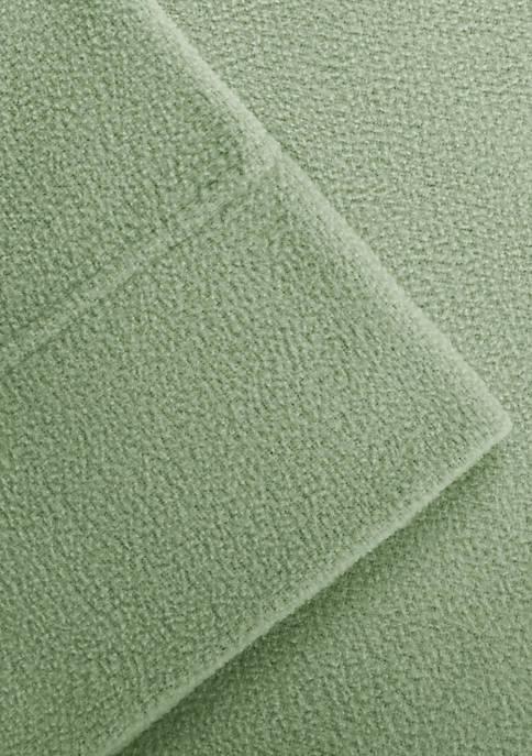 Micro Fleece Queen Sheet Set - Fitted 60-in. x 80-in.