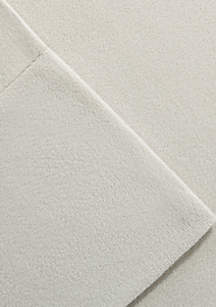 Cozy Spun Twin Sheet Set - Fitted 39-in. x 75-in.
