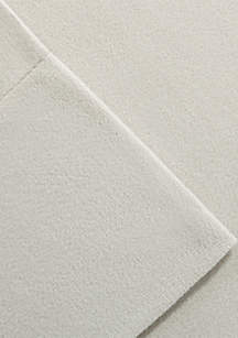 Cozy Spun Queen Sheet Set - Fitted 60-in. x 80-in.