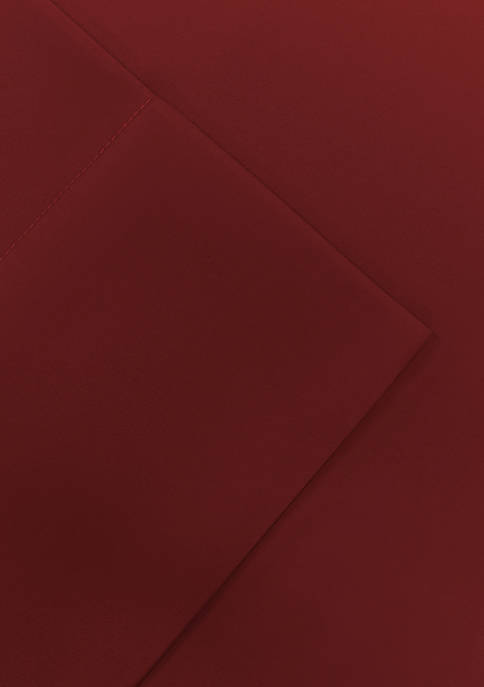 Solid Microfiber Full Sheet Set - Fitted 54-in. x 75-in.