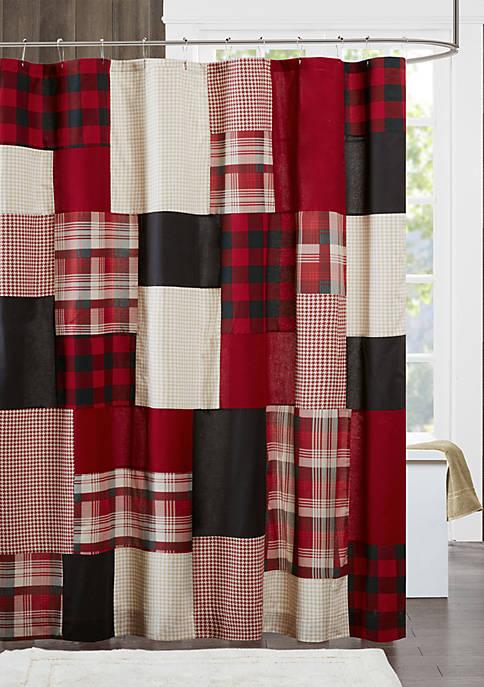 Sunset Cotton Shower Curtain