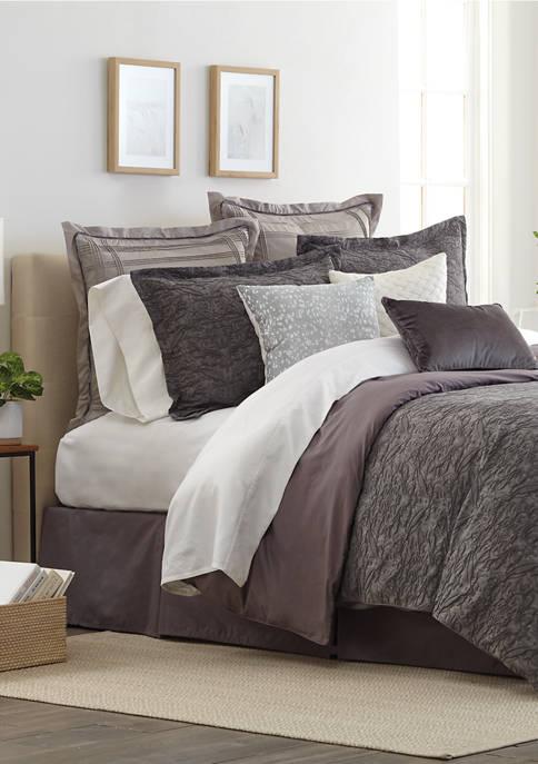 Biltmore® Kendall Stone Washed Comforter Set