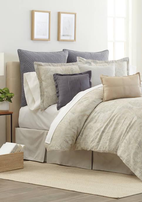 Milano Paisley Comforter Set