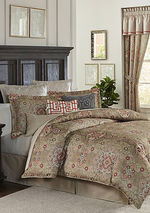 Biltmore® Perennial 4 Piece Comforter set