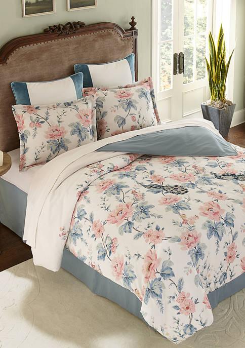 Biltmore® Peacock Floral Comforter Set