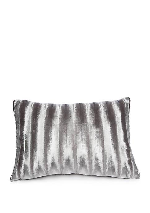 Biltmore® Argent Ruffle Throw Pillow