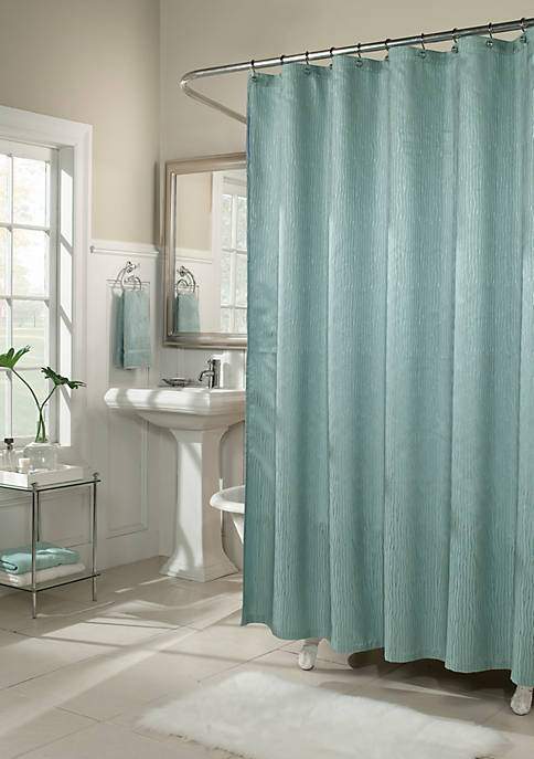 m.style Waves Shower Curtain