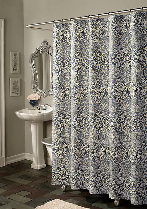 Istanbul Blue Shower Curtain - Online Only