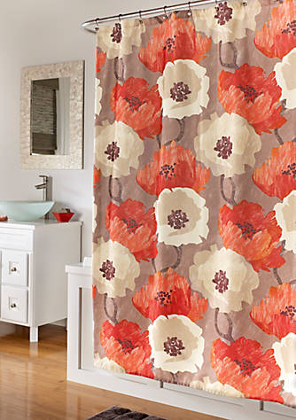 m.style Poppies Shower Curtain | belk