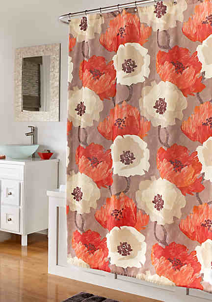 Mstyle Poppies Shower Curtain