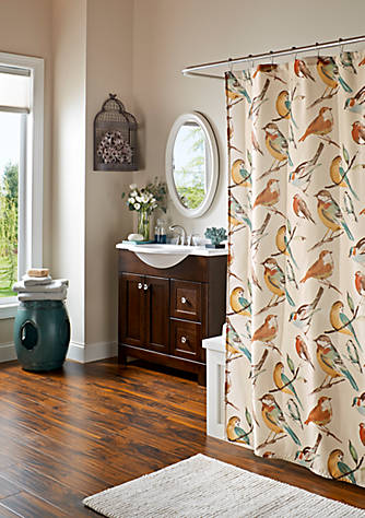 Mstyle Chirp Shower Curtain