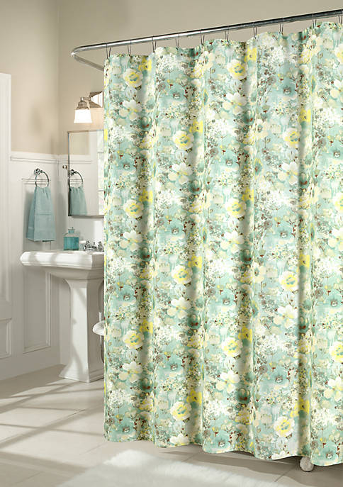 m.style Shadow Garden Shower Curtain