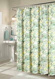 Shadow Garden Shower Curtain