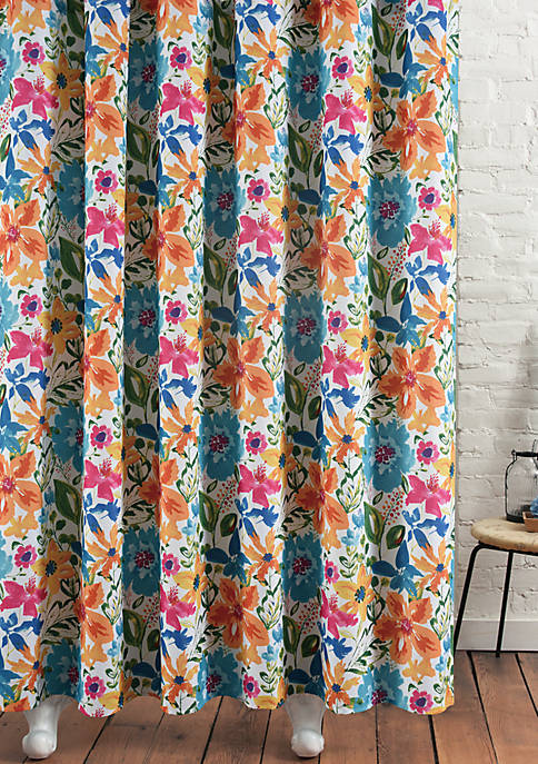 m.style Posey Shower Curtain