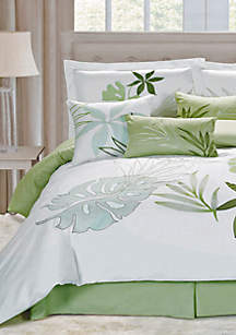 Lagoon Queen 7-Piece Comforter Set  92-in. x 96-in.