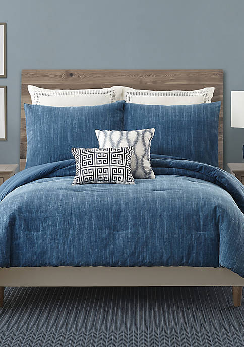 Ayesha Curry Rhapsody In Blue Full/Queen Comforter Set