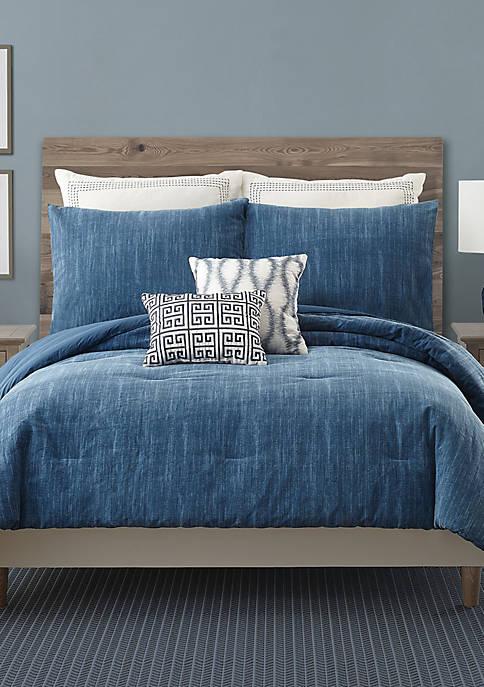 Rhapsody In Blue Full/Queen Comforter Set