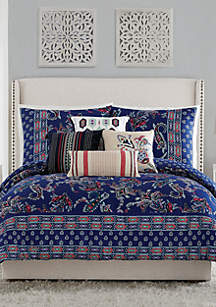 Vera Bradley Romantic Paisley Comforter Mini Set