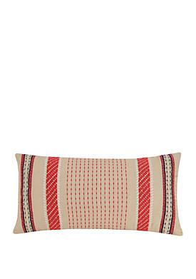 Romantic Paisley Romantic Stripe Decorative Pillow