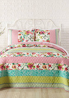Jessica Simpson Boho Garden Quilt Collection