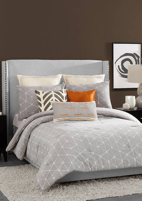 Ayesha Curry Diamond Comforter 3 Piece Set
